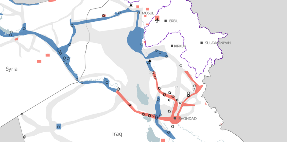 Where is the Islamic State Operating?