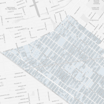 Northwest Bushwick Community Map