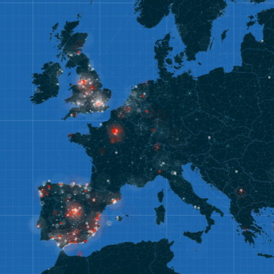 UEFA Champions League in Twitter