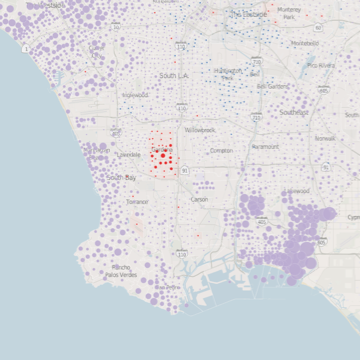 LA Times: Los Angeles County Sheriff Primary Results by Precinct