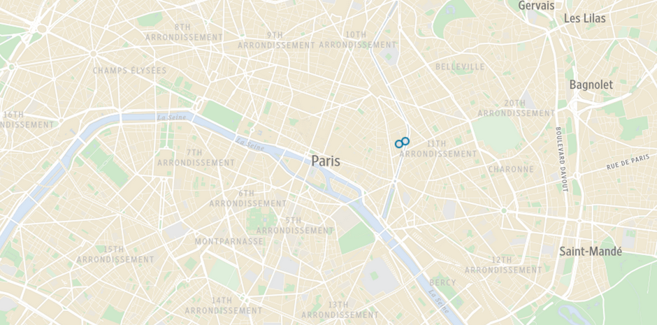 The Wall Street Journal Maps the Aftermath of the Paris Shootings and Hostage Standoff