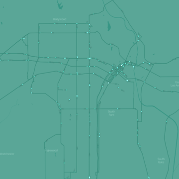 LA Metro Movement - Rapid Bus Lines