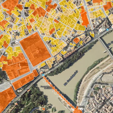 GIS for Urban Planning by the Cordoba CityCouncil