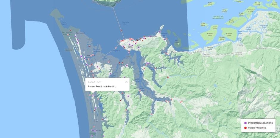 Oregon Tsunami