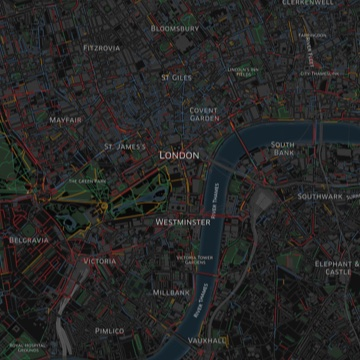 Mapping London smells