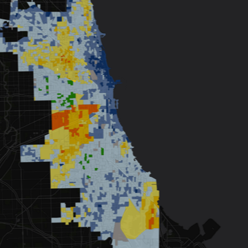 Mapping Chicago's 2015 Election Results