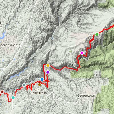Trason Trail 100KRun